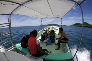 ダイビングボートⅠ