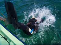 ダイビングボートⅠはエントリーが楽