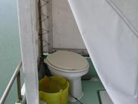 ダイビングボートⅠのトイレ