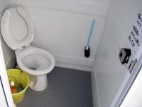 ダイビングボートⅢのトイレ