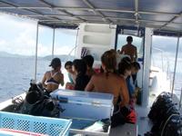 ダイビング専用ボート5