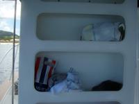 ダイビングボート5の棚