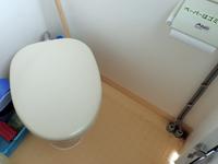 ダイビングボートwingのトイレ