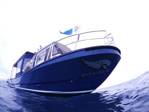 石垣島ダイビングボート