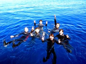 職場旅行で体験ダイビング