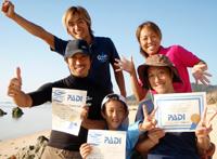 石垣島体験ダイビングとライセンススクール卒業生