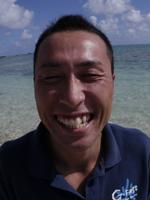 ダイビングインストラクター遠藤