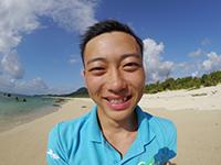 石垣島ダイビングスクールインストラクターサク
