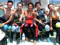 石垣島の体験ダイビングは最高