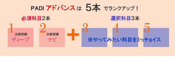 PADIアドバンス取得方法のイメージ図