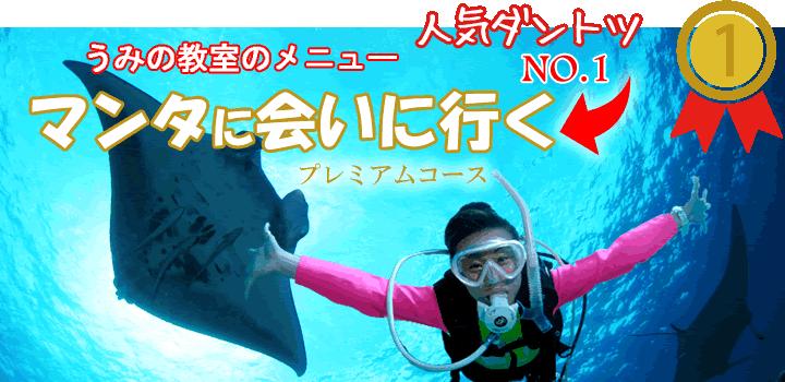 石垣島のマンタ(プレミアム)紹介のバナー