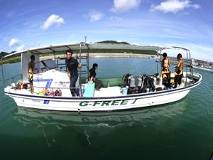ダイビングボートⅠ号