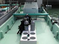 ダイビング専用ボートⅠ号