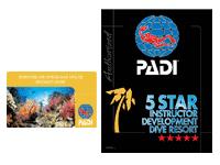 PADI5スター・IDダイブリゾートのロゴ
