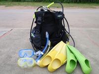 子供用ダイビング器材
