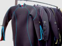 ダイビング用Wスーツ