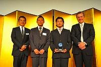 PADI功労賞2011の授賞式の様子
