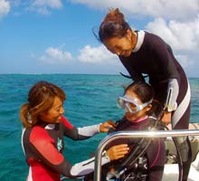 ダイビング短期プロボートトレーニング