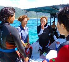 ダイビング短期プロ育成奨学制度の目標