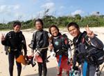 ダイビング短期プロ育成/奨学制度トレーニング風景