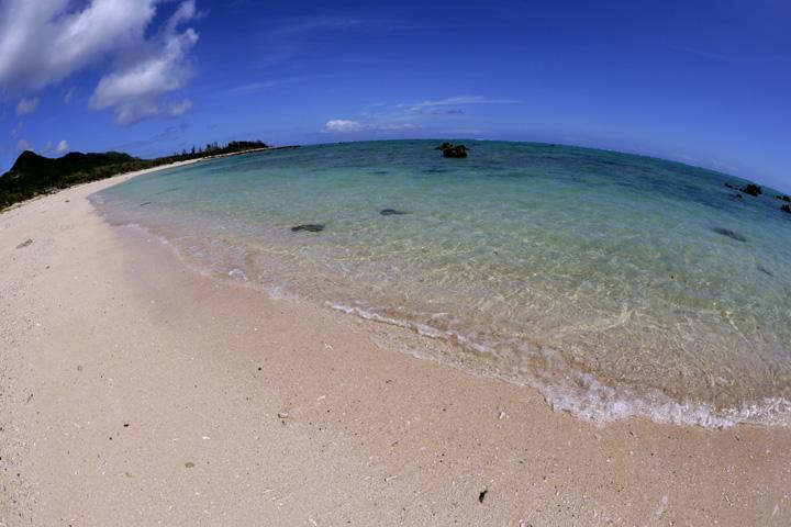 石垣島ダイビング講習で使用するビーチ
