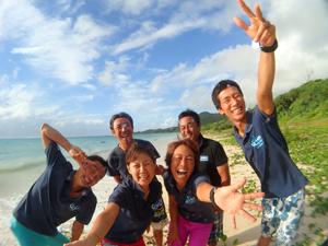 石垣島うみの教室スタッフ集合写真