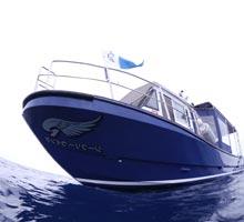 ダイビングボートWing号