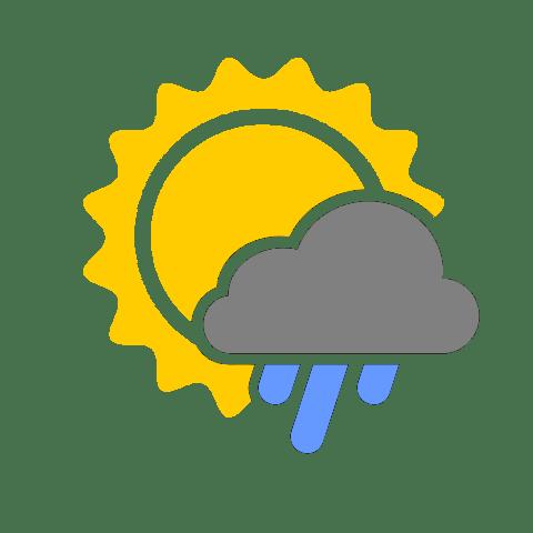 晴れ時々雨